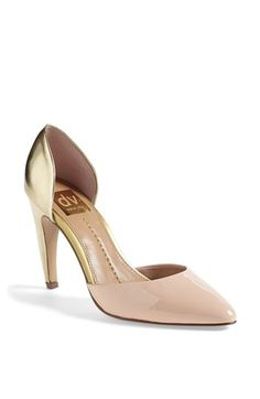 acf43cd977d7 DV by Dolce Vita  Pamona  Pump Gold Pumps