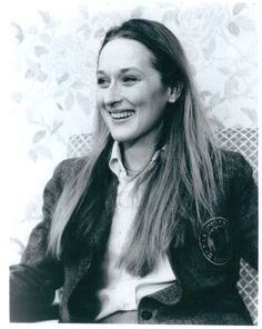 Meryl Streep. The coolest.