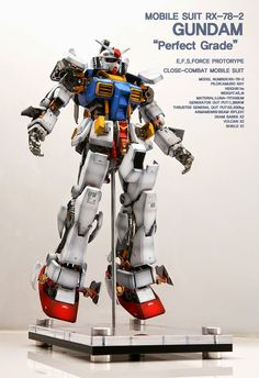 GUNDAM GUY: PG 1/60 RX-78-2 Gundam 'Open Hatch' - Custom Build
