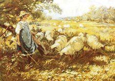 (1) Gallery.ru / Wiehler 3626-0 The Shepherd's pretty Daughter - WIEHLER - lavada1