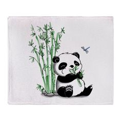 Keep this panda if you like cute, cuddley, pandas nom nom noming on a bamboo. This bamboo-eating creature will be a delight to anyone who laid their eyes on it. Latest Cartoons, Bamboo Tattoo, Blue Ceilings, Black And White Background, Floral Pillows, Cute Panda, Easy Drawings, Sleeve Tattoos, Canvas Prints