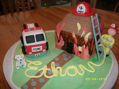Fire cake   Ethan