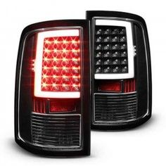 Clear Lens With Black Housing.Reuse Factory Reverse Bulb to Install LED Tail Lights: Long Lasting, Ultra Bright LEDs Makes Your Vehicle More Conspicuous Increased Visibility Over Sto Dodge Ram 1500 Accessories, Ram Accessories, Dodge 1500, Dodge Ram 3500, 2017 Ram 1500, Ram Trucks, Dodge Trucks, 2018 Dodge, 2018 Ram
