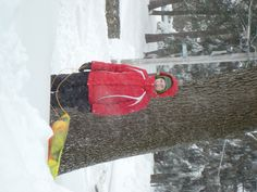 Me in the snow (I look like a walking marshmellow...lol)...Nemo 2013