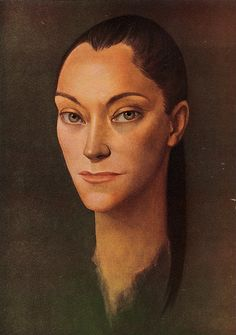 Leonor Fini - Portrait de Maria Casares 1955