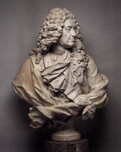 Guillaume Coustou, Bust of Samuel Bernard  c. 1727  Marble  Metropolitan Museum of Art, New York