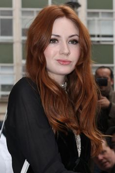 Karen Gillan - she makes pale look so beautiful!