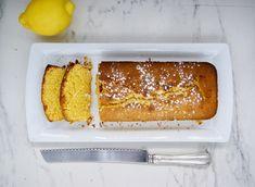 Cake parfumé au citron et aux amandes Sans Gluten, C'est Bon, Banana Bread, Cake, Desserts, Food, Almonds, Lemon, Baking Soda
