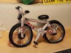 Fondant Fahrrad Torte Bike