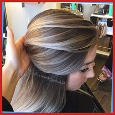 New hair color ideas for brunettes balayage low lights blondes 59 Ideas Ombre Hair Color, Hair Color Balayage, Cool Hair Color, Blonde Balayage, Grey Ombre, Balayage Highlights, Pastel Grey, Short Balayage, Grey Blonde