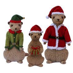 Christmas Meerkats pattern on Craftsy.com