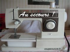 Machine à coudre : des solutions si problème de fils, tension, bourrage etc.. Coin Couture, Couture Sewing, Techniques Couture, Sewing Techniques, Costumes Couture, Crochet Abbreviations, Baby Afghans, Sewing Hacks, Tulle