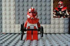 Lego Star Wars Clone Trooper Commander Ganch Phase II Armor Ver Custom 5702014498761 | eBay