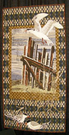 Animal Quilts at the International Quilt Shows - Travel Photos by Galen R Frysinger, Sheboygan, Wisconsin