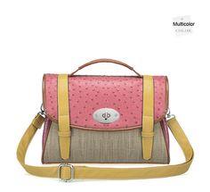 Satchel Shoulder Bag Colorful