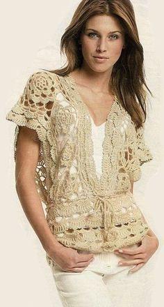 Um blog com tutoriais e inspirações de crochê para decorar e vestir.
