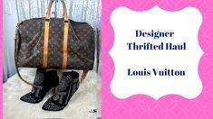 c0382abda00e Designer Thrift Haul handbags   Jewelry ...Louis vuitton   Bling!