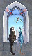 Magnus & Loki: Birdwatching by Sarah Clemens - cats, dragons, birds