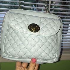Small Steve Madden light blue purse Very cute small bag/purse!! (Light blue) Steve Madden Bags