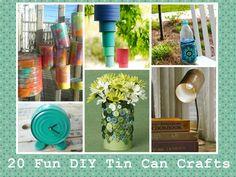 Image result for pinterest craft tins