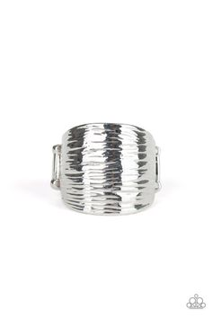 Paparazzi Accessories ~ Rippling Rivers - Silver Ring