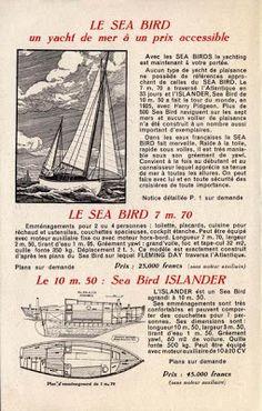Quinze marins sur le bahut du mort...: plan seabird
