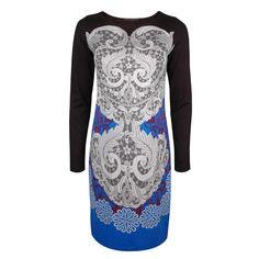 Robe imprimée Saphir #DidierParakian Sapphire Print Dress #OGILVY Collections