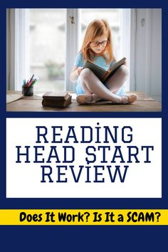 Reading Head Start Review - Does It Work? Is It a SCAM? The Reading Head Start program is a digital program that will help to improve your child's reading skills. Read our full review to see if it is worth it for your child! head start reviews from parents, reading head start vs hooked on phonics, head start reading program, reading head start review, reading head start program reviews, reading head start scam, reading head start sarah shepard, reading head start program free, Reading Practice, Reading Skills, Head Start Programs, Hooked On Phonics, Feeling Dizzy, Does It Work, Learning Process, Improve Yourself, Children