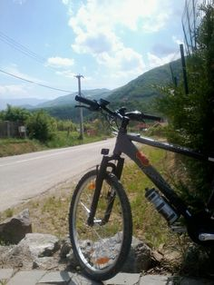 Bike ride to Cisnadioara, Romania