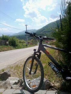 Bike ride to Cisnadioara, Romania