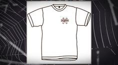 Camiseta Bones de la marca Powell Peralta. Todo un lujo del siglo XX