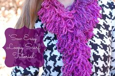 If you're looking for a quick (but cute) handmade gift, you'd definitely want to check out this tutorial for a loopy scarf that is sewn — not knit or crocheted. Hi! I'm Carol and I am thrilled to have my first-ever guest post here on Sugar Bee Crafts. I blog over at Pure Sugar, where …