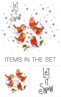 """""""Snow Time"""" by nthpocket ❤ liked on Polyvore featuring art"""