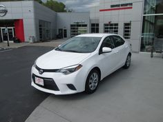 The Sharp new 2015 #Toyota #Corolla purchased by Margaret King of Forest Hills, Ky from Jimmy Mullins! Congratulations Margaret and we welcome you to the Walters Toyota Nissan Family!