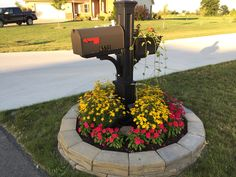 Easy Mailbox Ideas Landscaping Garden Diy