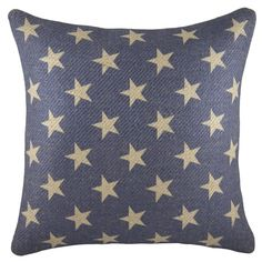 You'll love the Patriotic Stars Burlap Throw Pillow at Wayfair - Great Deals on all Décor & Pillows products with Free Shipping on most stuff, even the big stuff.