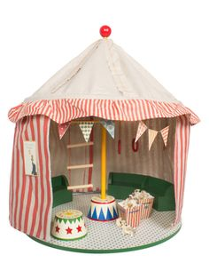 Circus Tent with Podium from Maileg Stuffed Animals & More on Gilt