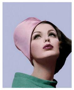 Vogue, March 1962. Photo by Bert Stern hats