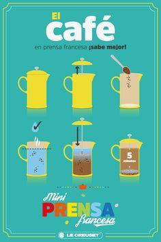 El café preparado en la Mini Prensa Francesa @Le Creuset México ¡Sabe mejor! ¿Sabes por qué? Porque tu café conservará sus aceites, sabor y aroma. Además, su consistencia quedará más concentrada. ¡Simplemente la mejor manera de prepararlo! ✓ Disponible en 10 fabulosos colores. ✓ Fabricadas en Cerámica de Gres que no absorbe olores, colores ni sabores. ✓ Garantía Internacional de 5 años. Encuéntralas en: ➡︎ #ElPalacioDeHierro: Polanco/Coyoacán y #CityMarket.