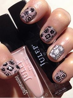 Base is Julep Jules and Cleopatra.Marianne Nails plate no. 68.
