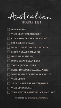 Ideas Travel Bucket List Australia Wanderlust For 2019 Travel Checklist, Travel List, Travel Goals, Travel Hacks, Places To Travel, Travel Destinations, Africa Destinations, Holiday Destinations, Destination Voyage