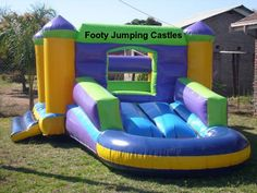 #Hire #Jumping #Castle in #Sydney at Low Rental Prices & Great Services....   http://www.footyjumpingcastles.com.au/