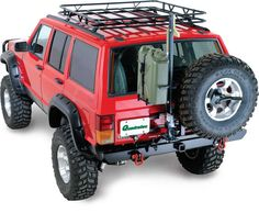 Garvin Industries Sport Series Roof Rack for 84-01 Jeep® Cherokee XJ without Factory Rack | Quadratec
