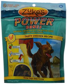 Zuke's Dog Power Bones, Chicken, 6 oz -- Discover this special dog product, click the image : Dog treats