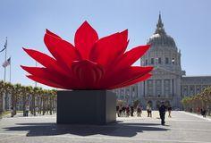 Breathing Flower, Choijeonghwa, 2012, Civic Center Plaza, San Francisco