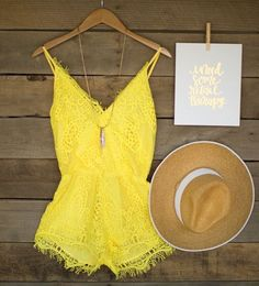 Lace Everything Romper