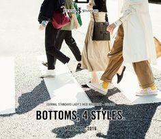 2016 SPRINGSUMMER STYLE MAGAZINE BOTTOMS 4 STYLES.