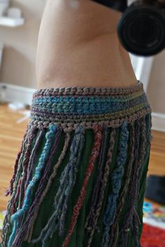 Tribal Belly Dance Belt by FishingfromtheMoon on Etsy