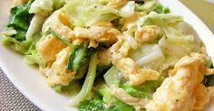 ★4000れぽ感謝★キャベツを炒めて出た水分は中華だしでトロミをつけしっかり味に!ふんわり卵とごま油で香ばしく優しい味。