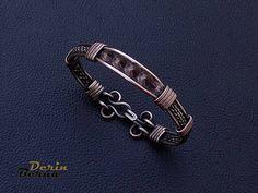 Men BraceletAmethyst braceletJewelry for mensMen